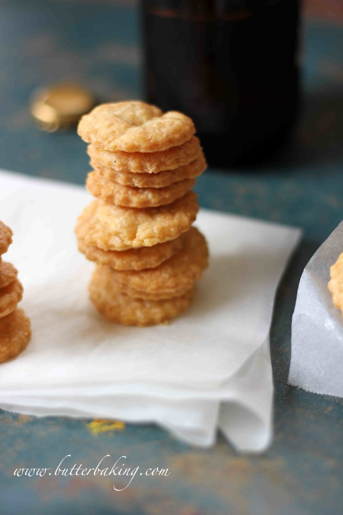 Cheddar Cheese Crackers | Butter Baking