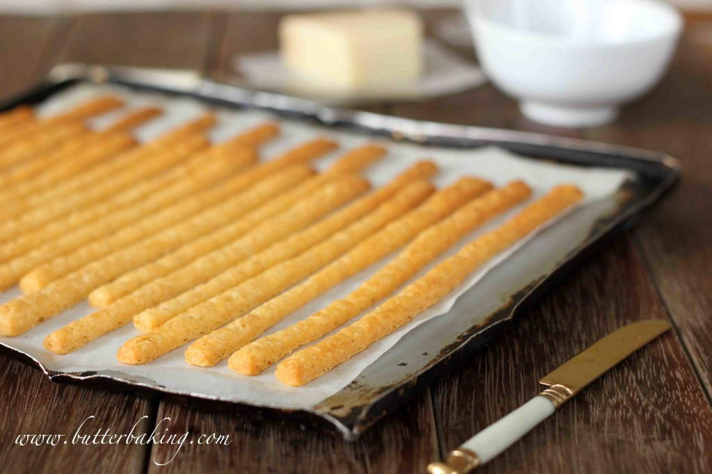 Cheese Straws | Butter Baking