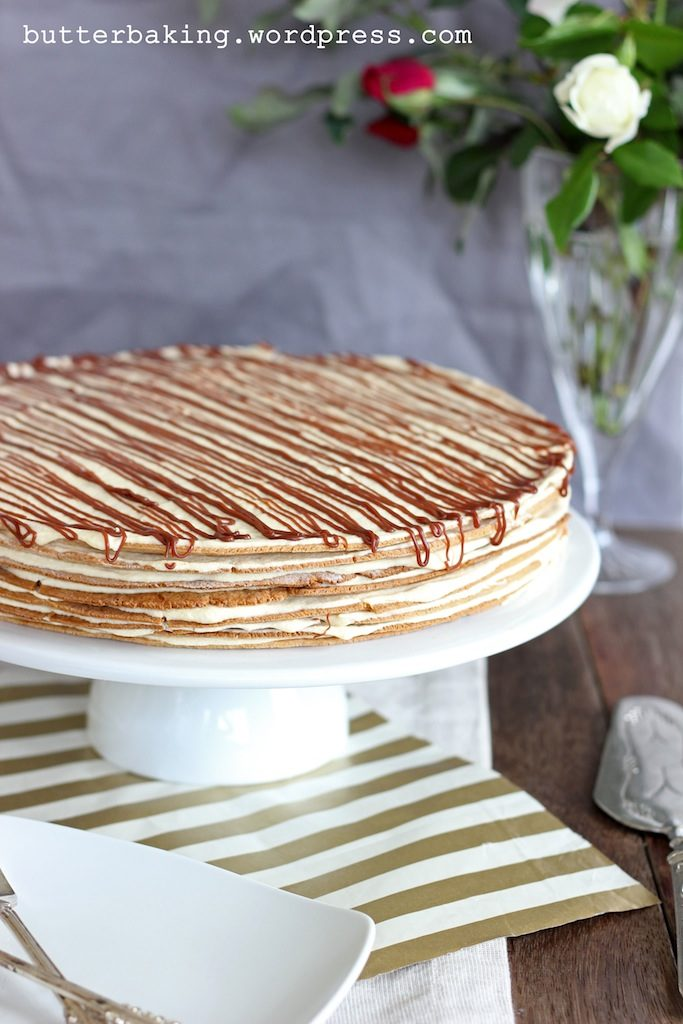 Polish Icebox Cake (Miodowiec)   Butter Baking
