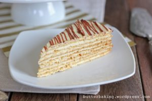 Polish Icebox Cake (Miodowiec) | Butter Baking