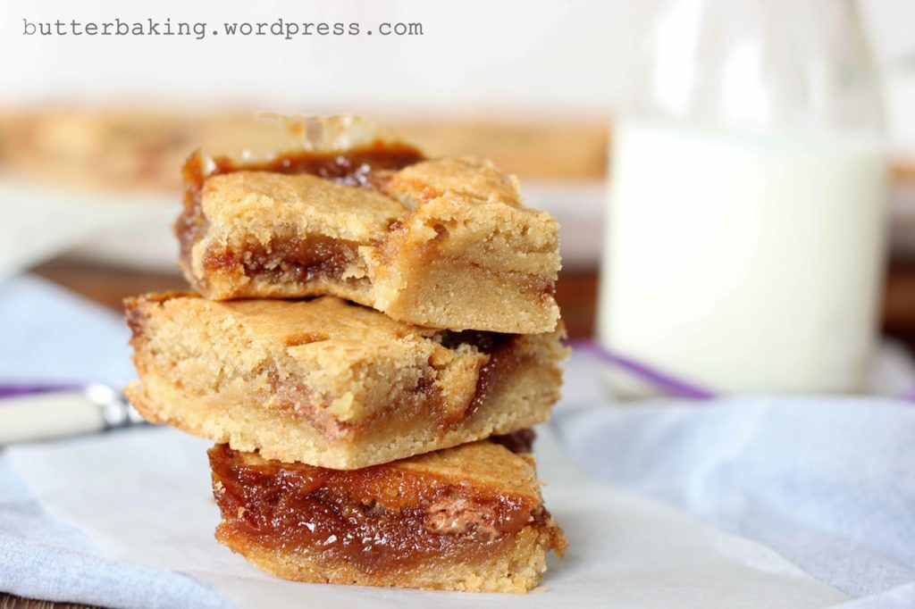 Salted Caramel Blondies | Butter Baking
