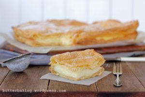 Polish Vanilla Slice (Karpatka) | Butter Baking
