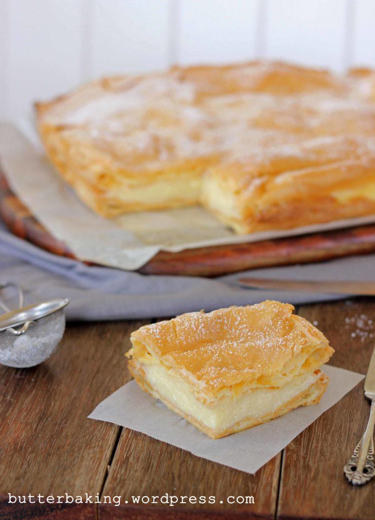 Polish Vanilla Slice (Karpatka) | Butter Baking