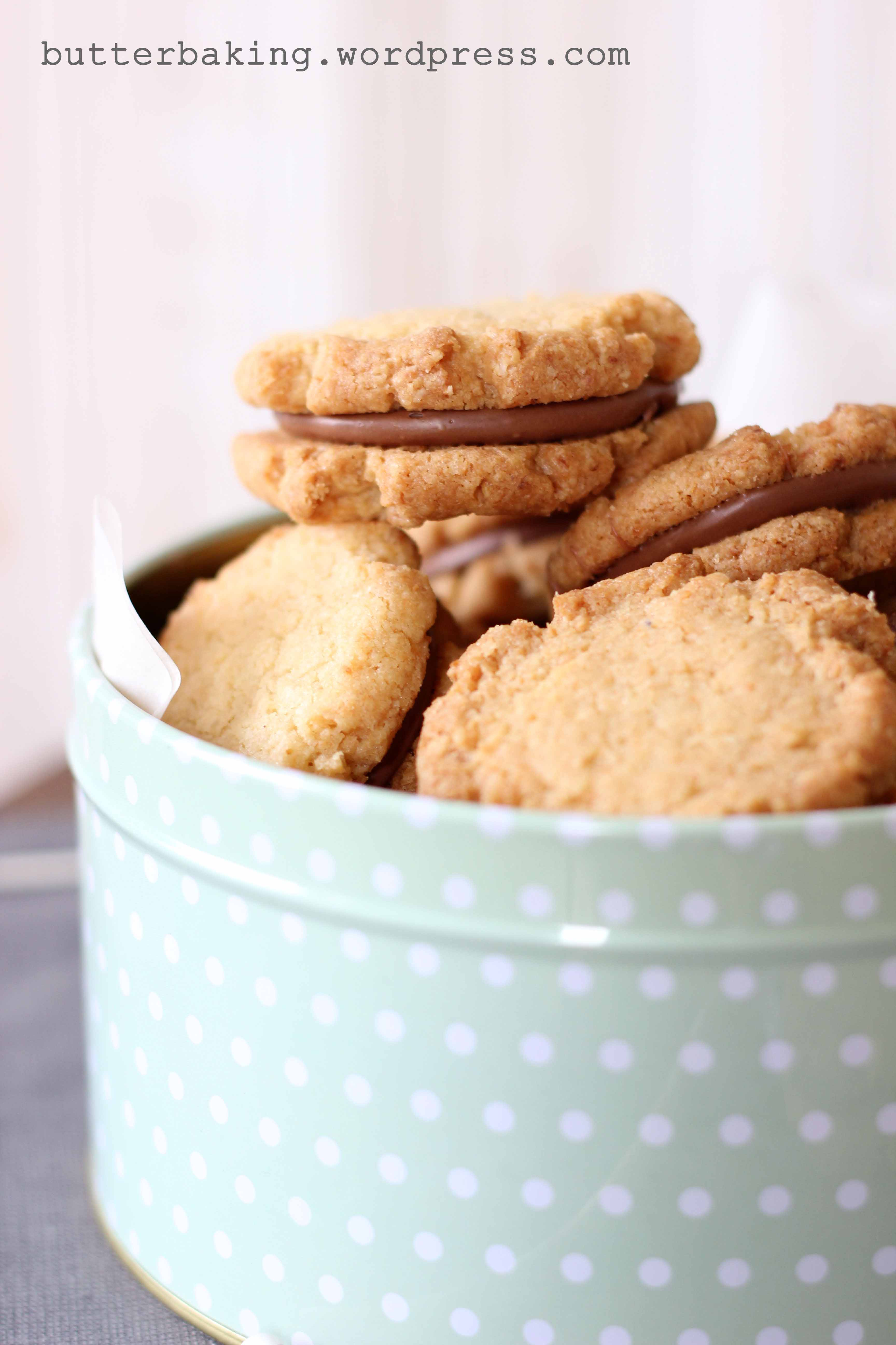 Milk Chocolate Hazelnut Sandwich Cookies (Kingstons) | Butter Baking