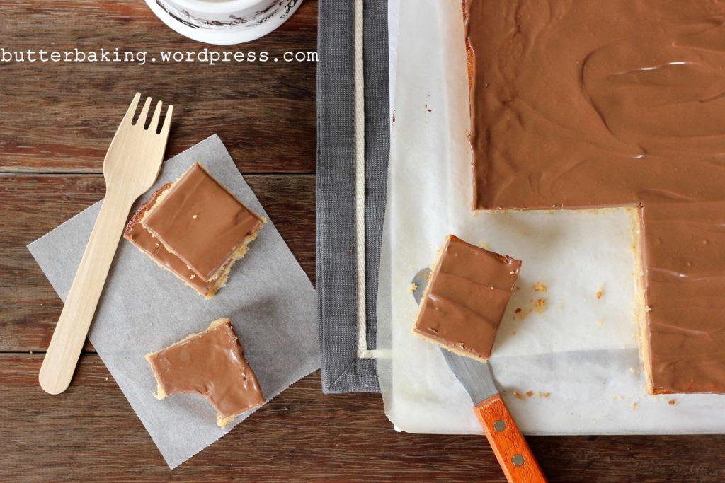 Caramel Slice   Butter Baking