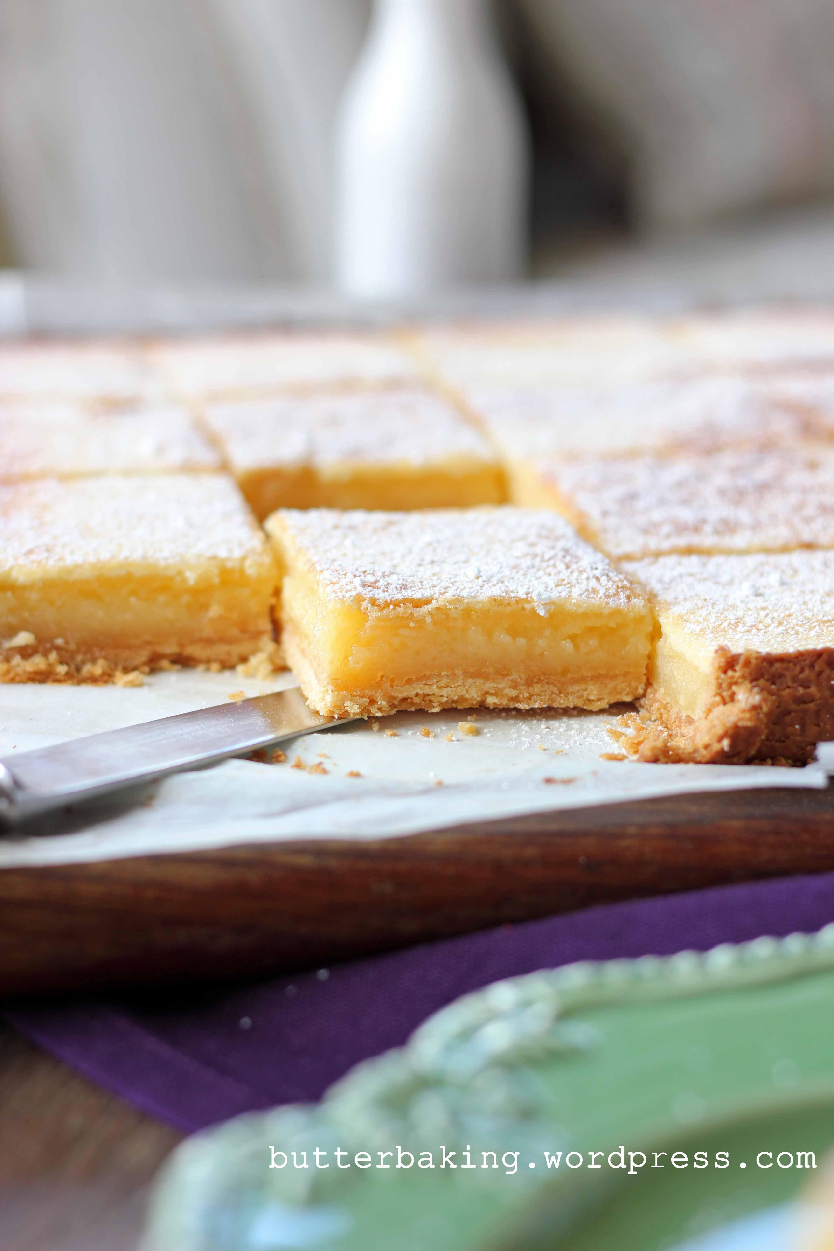Brown Butter Lemon Bars | Butter Baking
