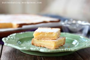 Brown Butter Lemon Bars | Butter Baking