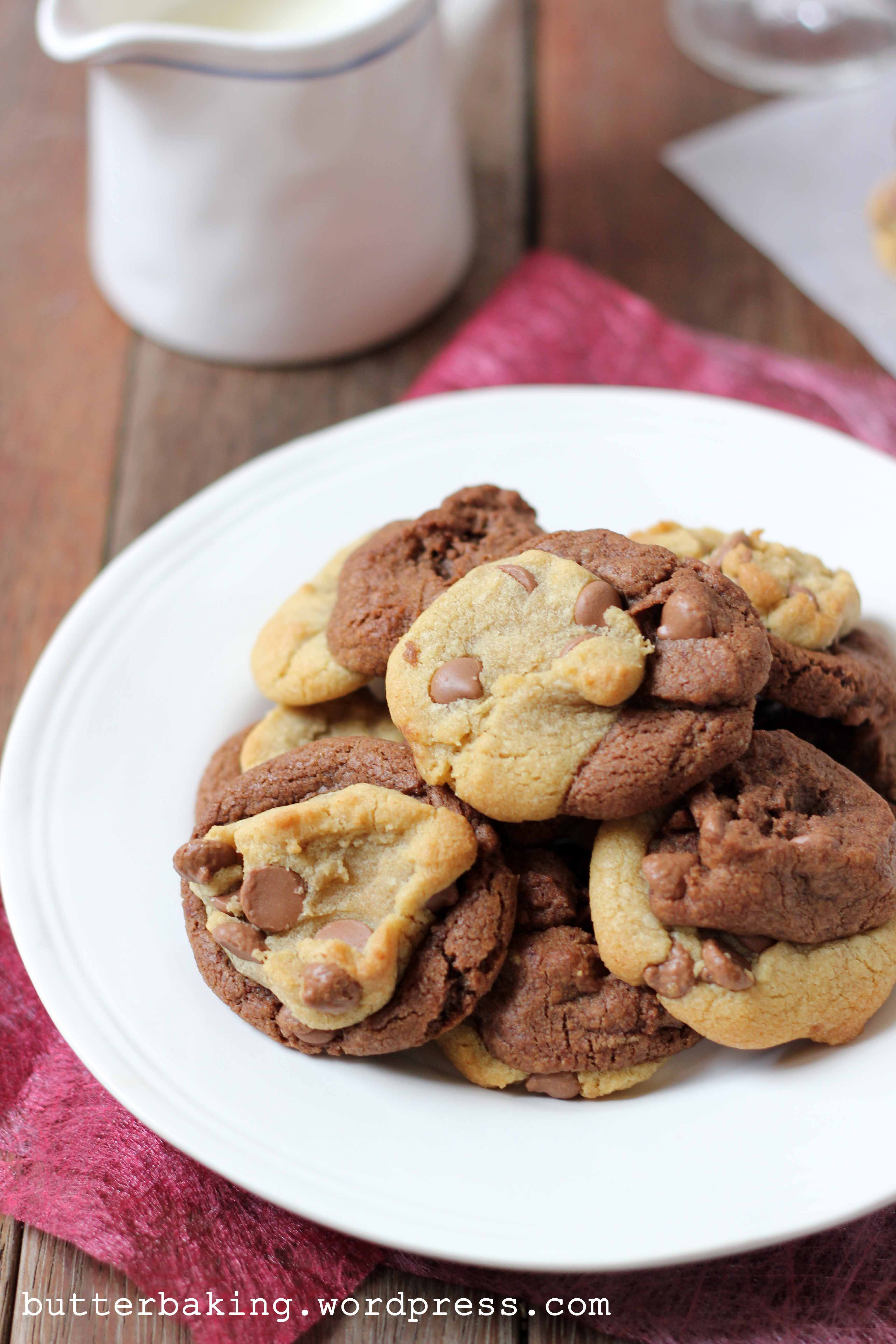 Double Fudge Cookie and Chocolate Chip Cookie Smashed Cookies | Butter Baking