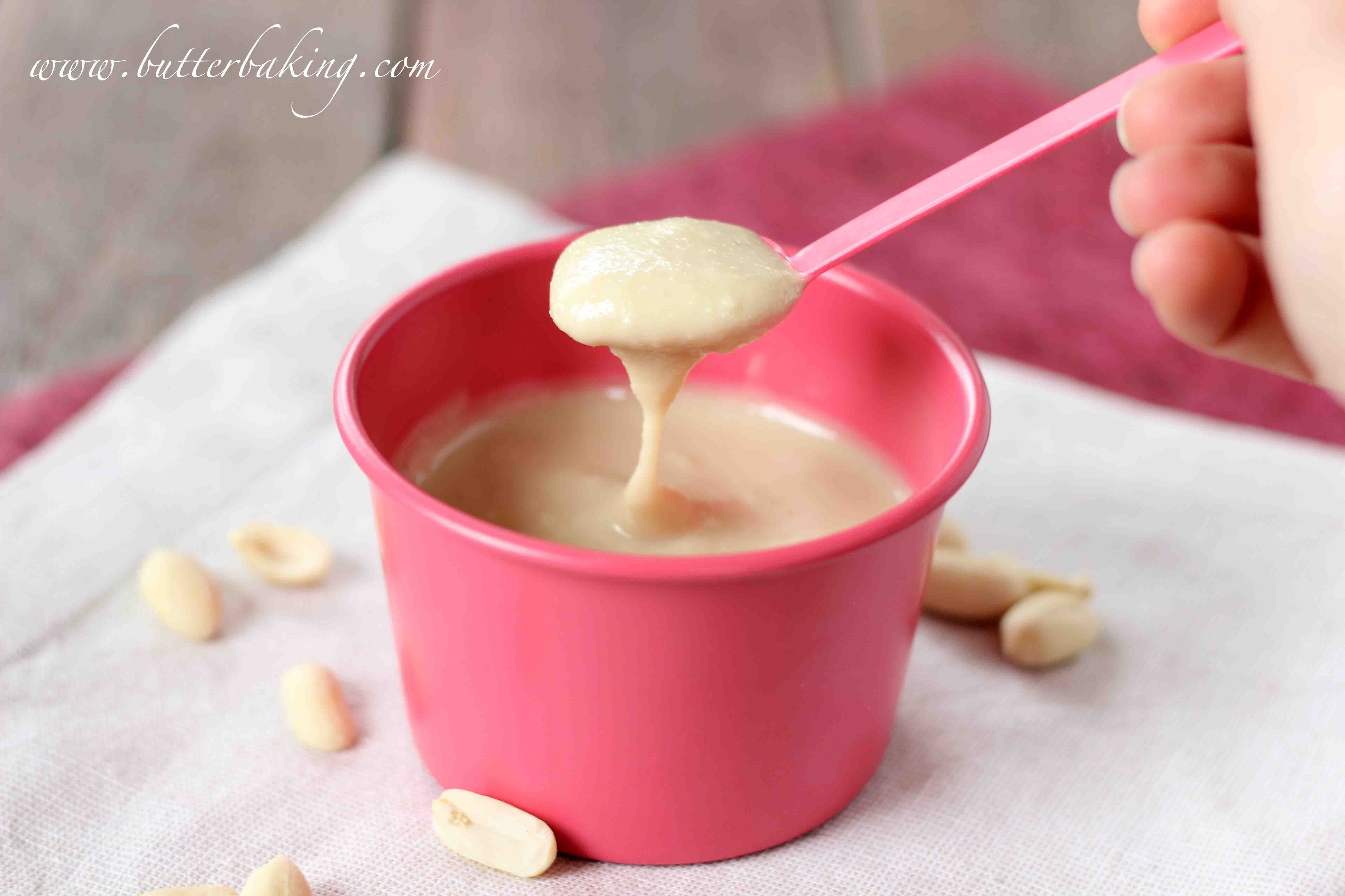 how to make healthy homemade peanut butter