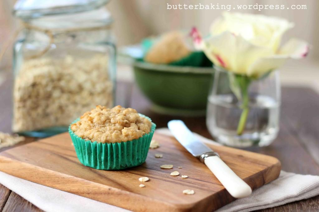 Healthy Apple, Yogurt and Oat Breakfast Muffins | Butter Baking