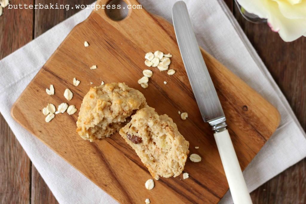 Healthy Apple, Yogurt and Oat Breakfast Muffins   Butter Baking