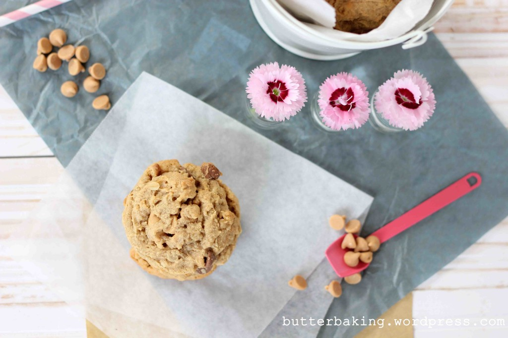 Choc Oatmeal Peanut Butter Chip Cookies | Butter Baking