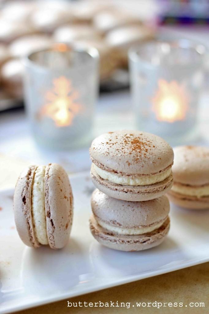 Gingerbread Macarons | Butter Baking