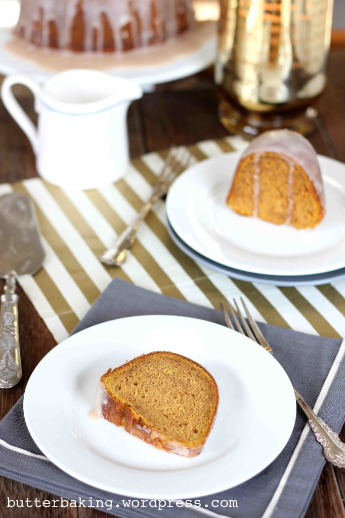 Pumpkin Bundt Cake with Maple Glaze | Butter Baking