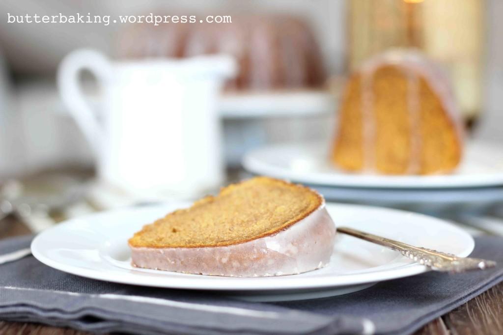 Pumpkin Bundt Cake with Maple Glaze | Butter Baking