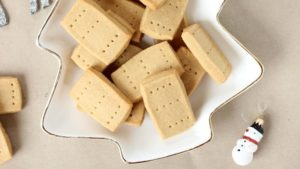 christmas spiced shortbread