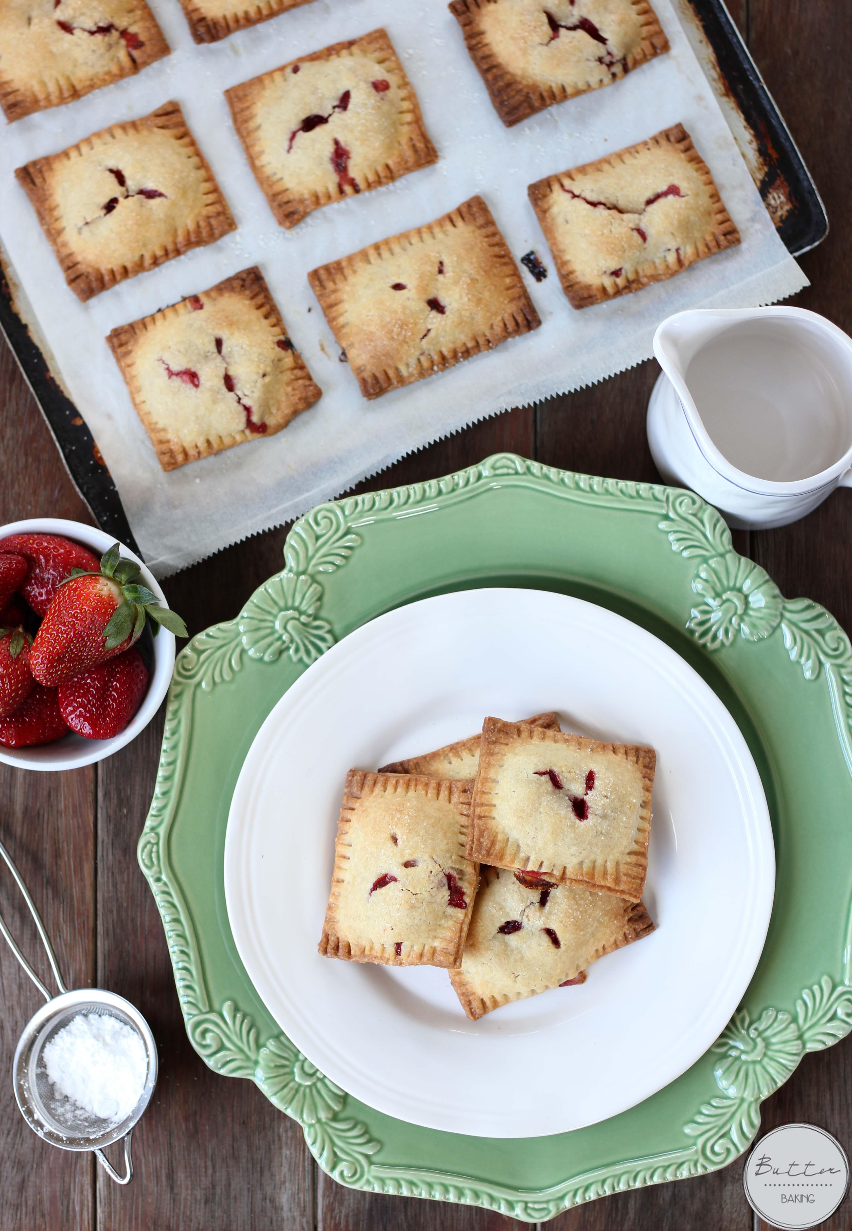 Strawberry custard hand pies   Butter Baking