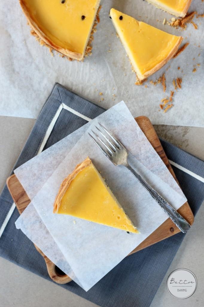 Passionfruit tart   Butter Baking