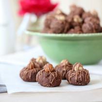 Homemade Chocolate Hazelnut Baci Chocolates | Butter Baking