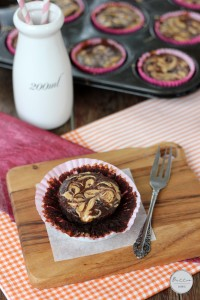 Peanut butter swirled healthy fudge brownies | Butter Baking