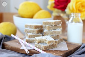 Lemon coconut bars | Butter Baking