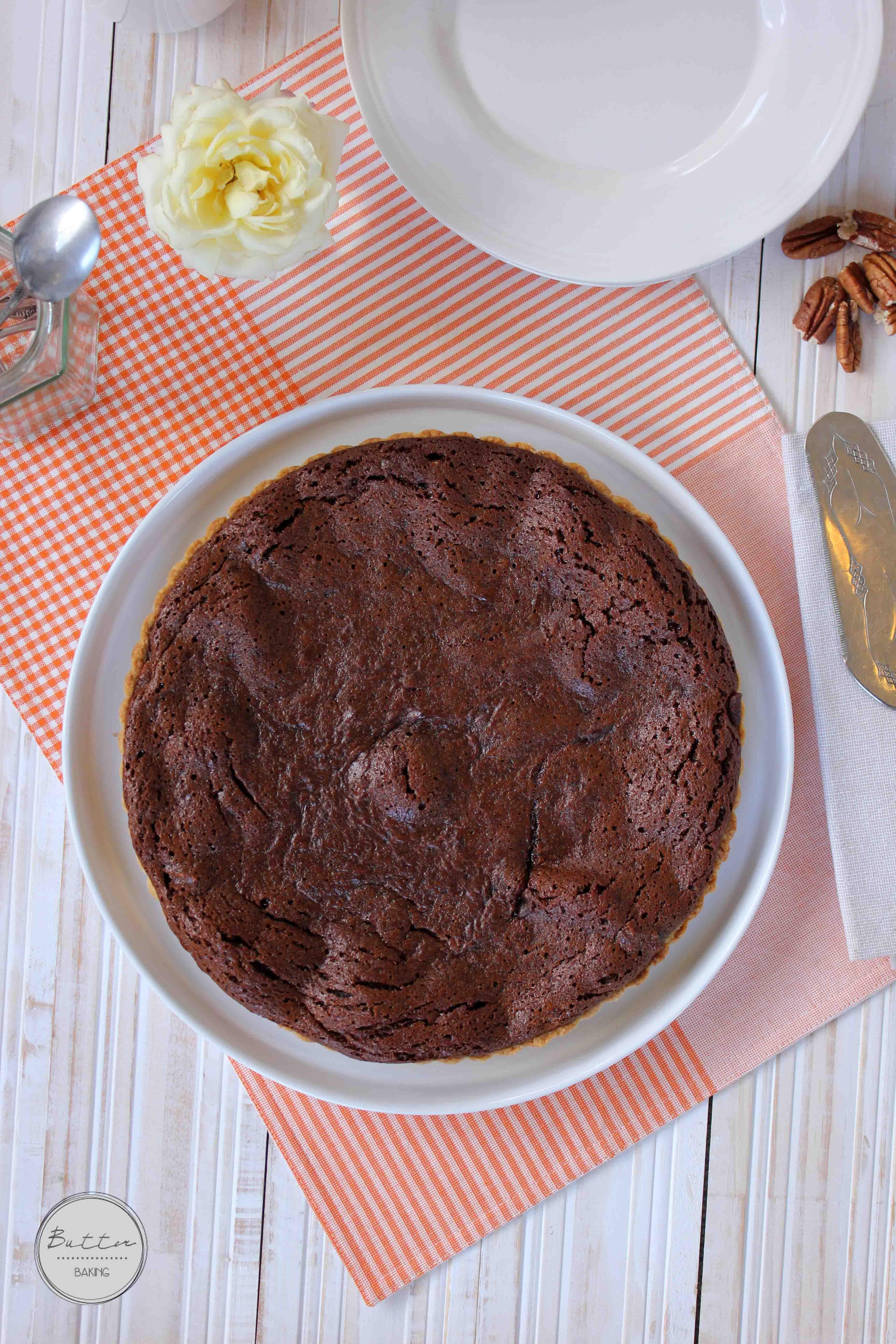 Chocolate espresso nut tart | Butter Baking