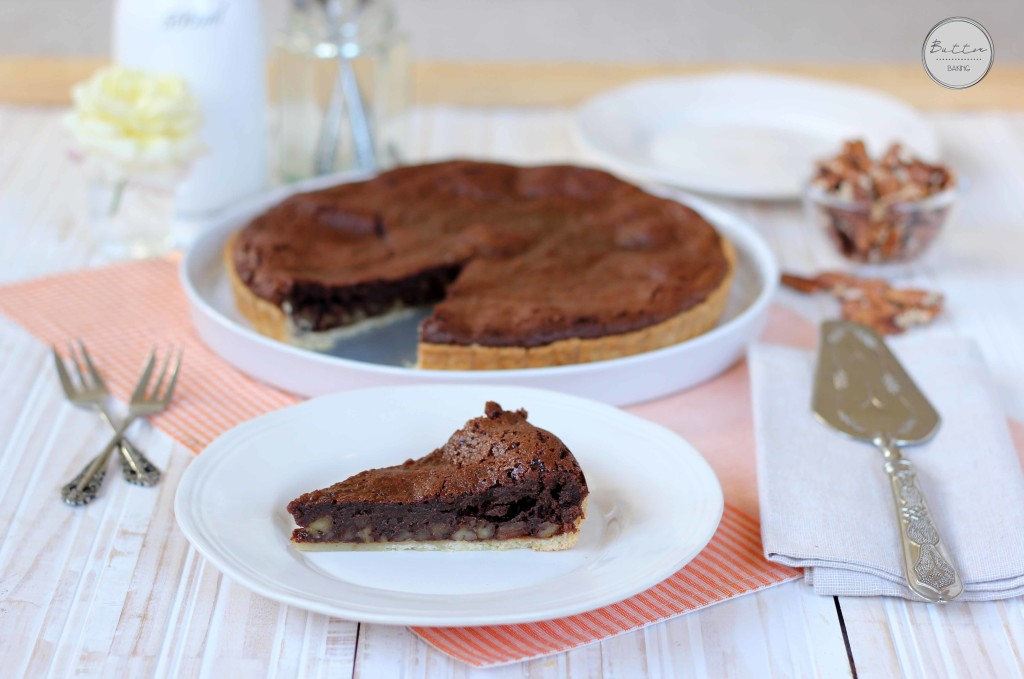 Chocolate espresso nut tart | Butter Baking