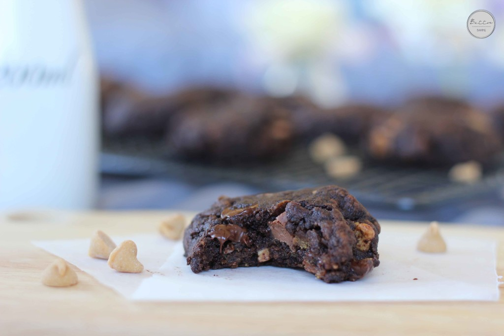 Double peanut butter chocolate chip cookies | Butter Baking
