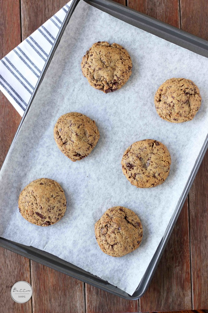 Mocha chocolate chip cookies   Butter Baking