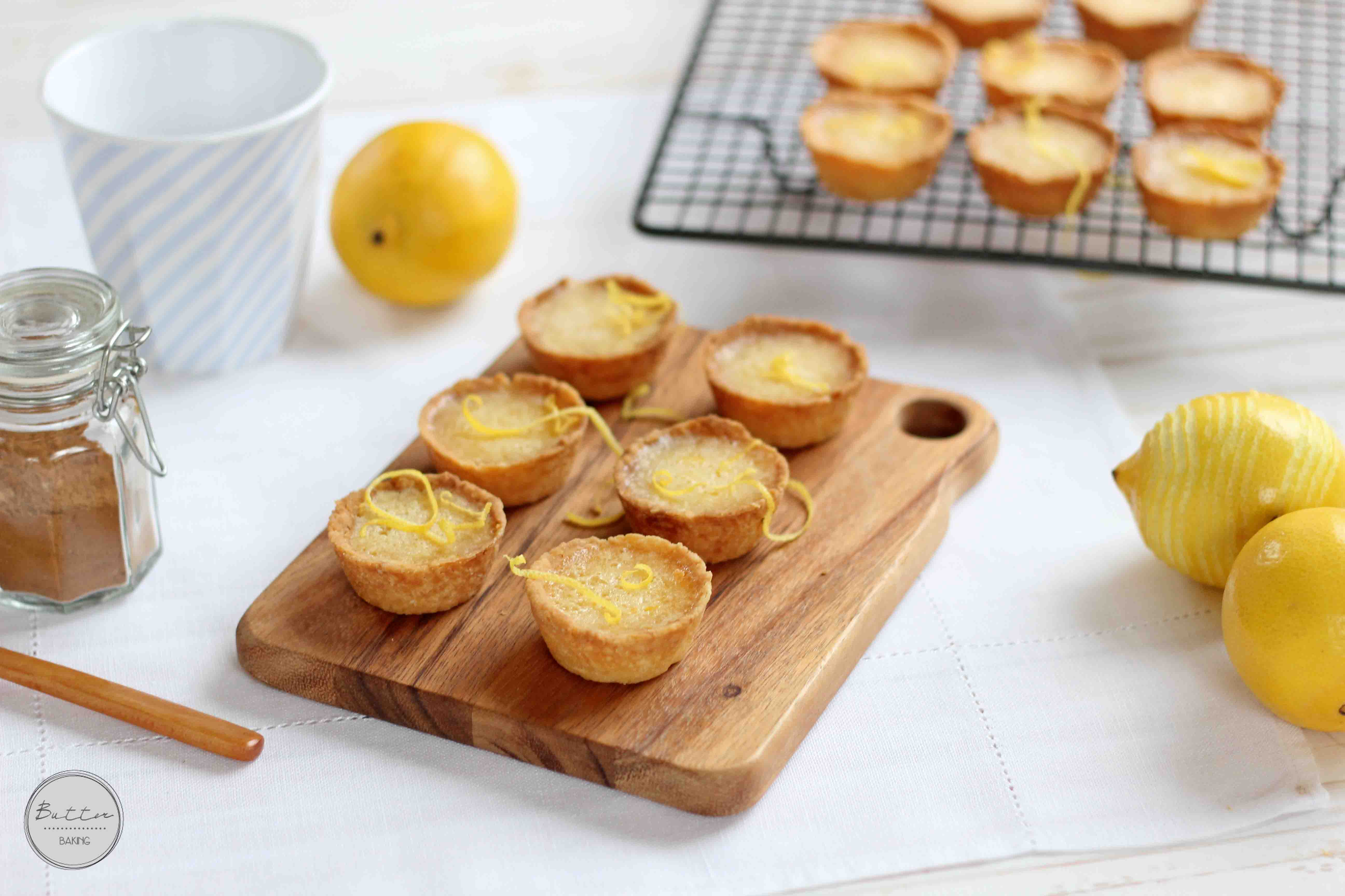 Little Lemon Tarts | Butter Baking