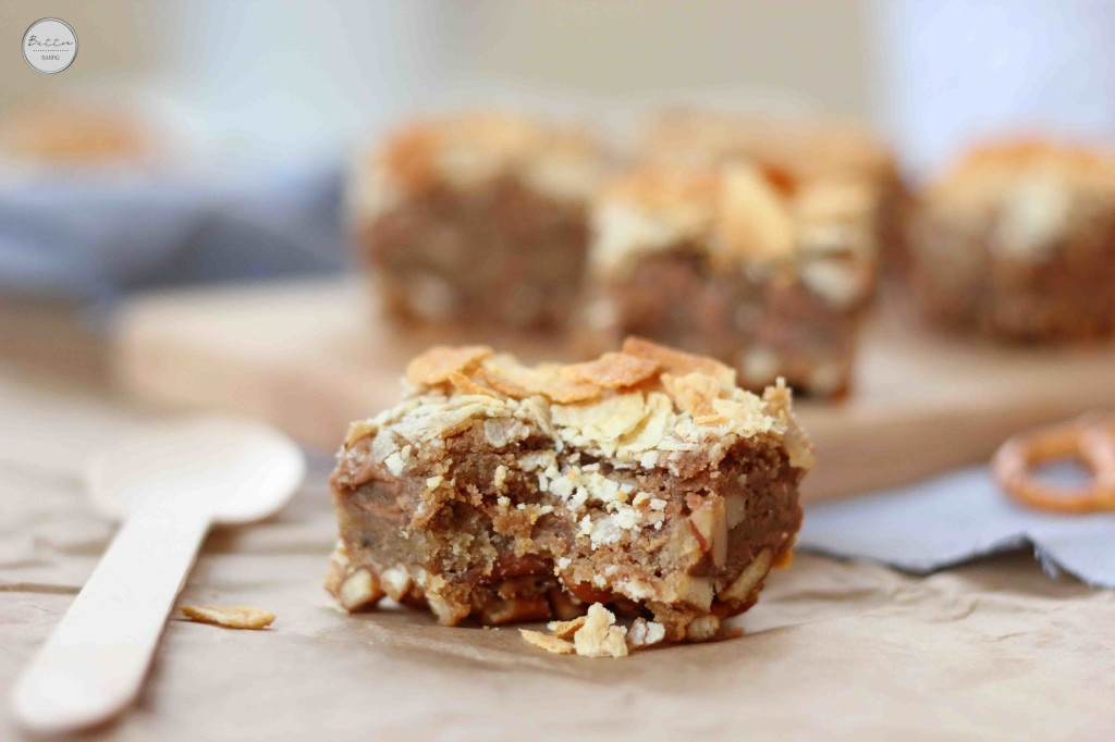 Sweet Potato Peanut Butter Blondies Recipe — Dishmaps