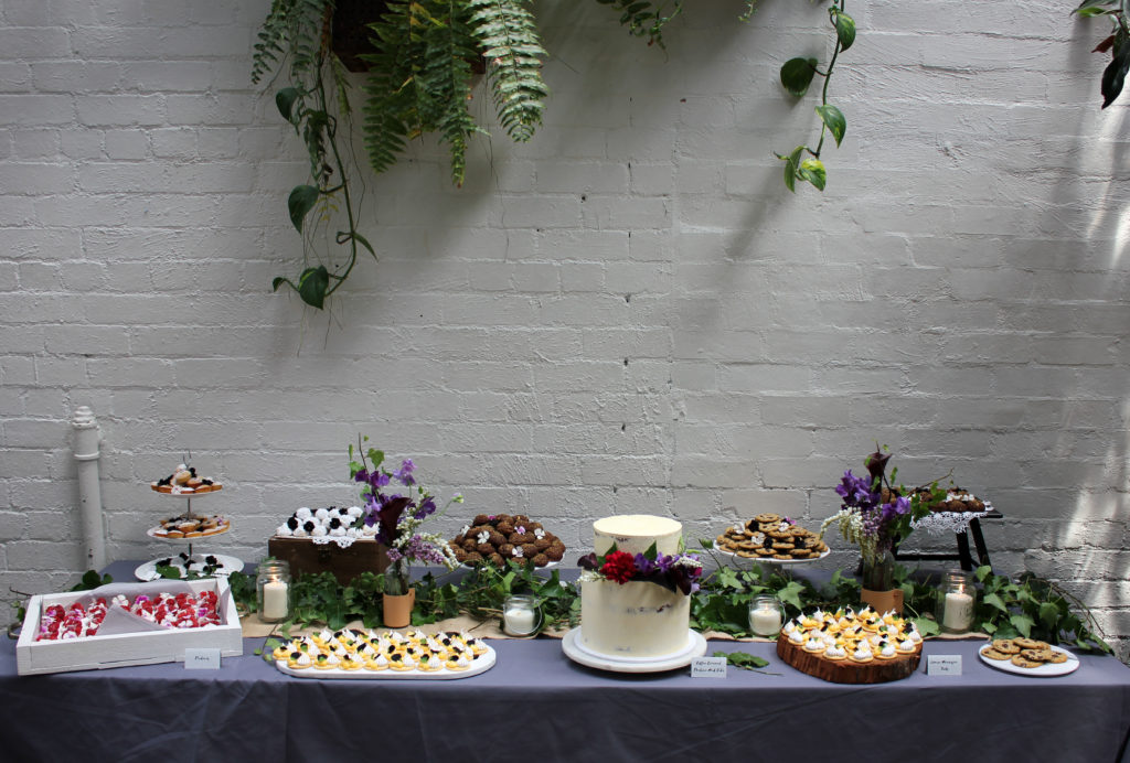 Engagement party dessert table | Butter Baking