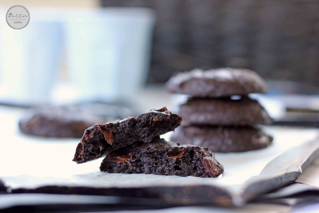 Salted Chocolate Truffle Cookies | Butter Baking