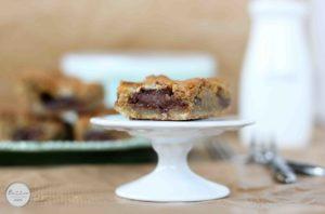 Gooey Nutella Condensed Milk Cookie Bars | Butter Baking