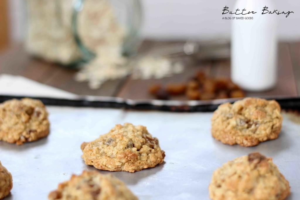 Oatmeal Raisin Cookies | Butter Baking