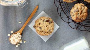 oatmeal choc cookies