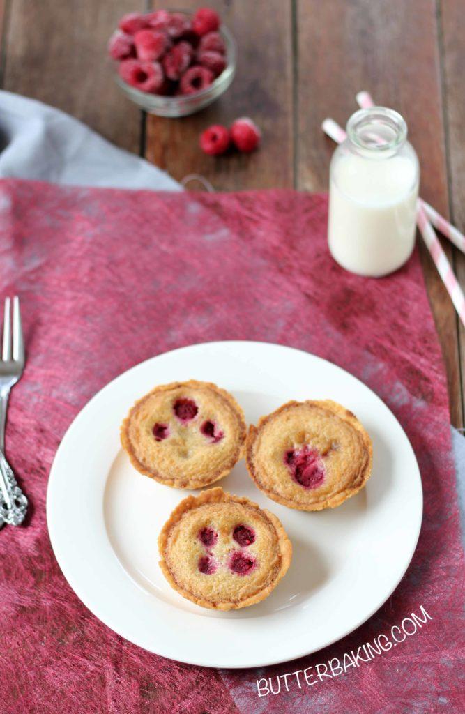 Brown Butter Raspberry Tarts | Butter Baking