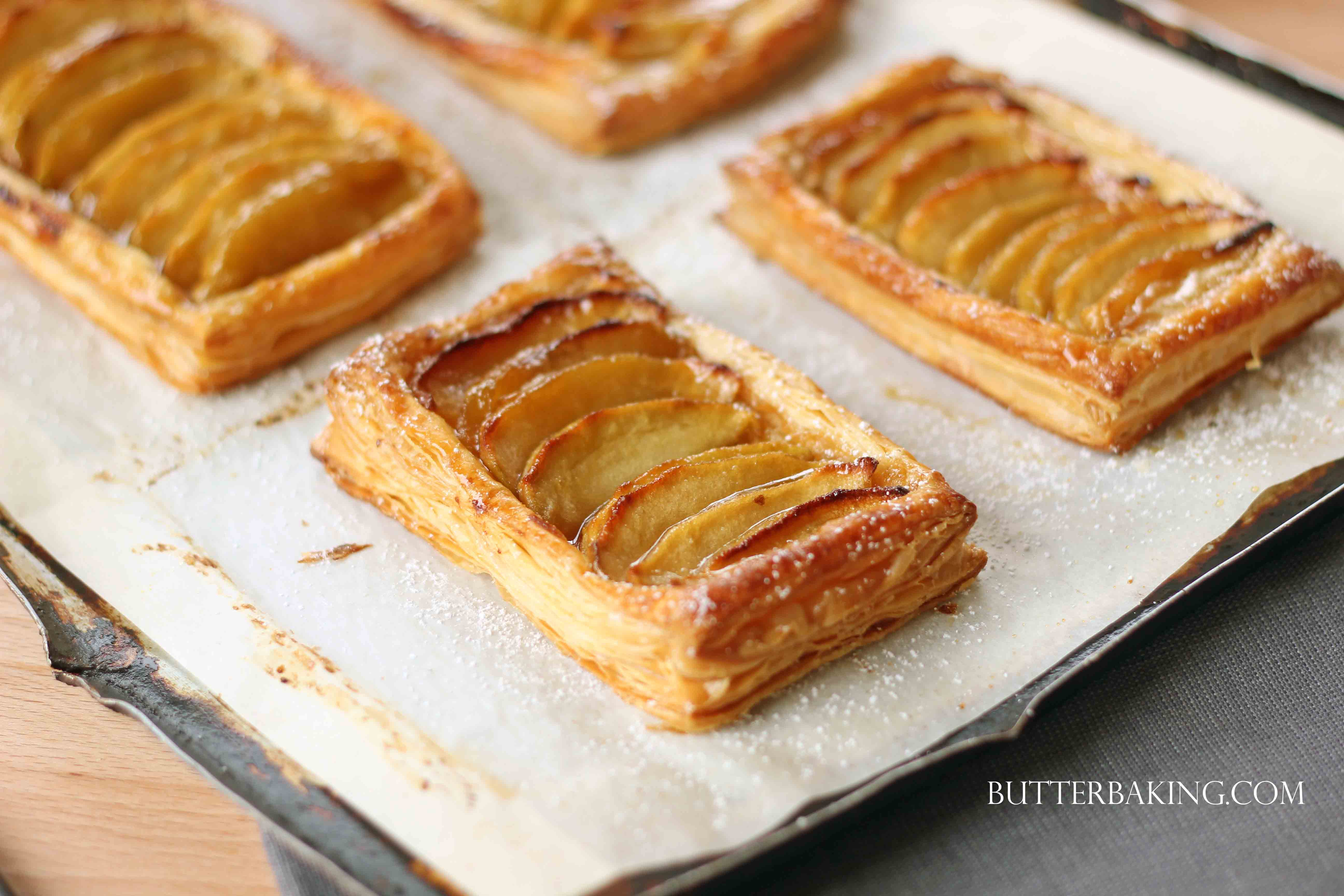 Caramel Apple Galettes | Butter Baking