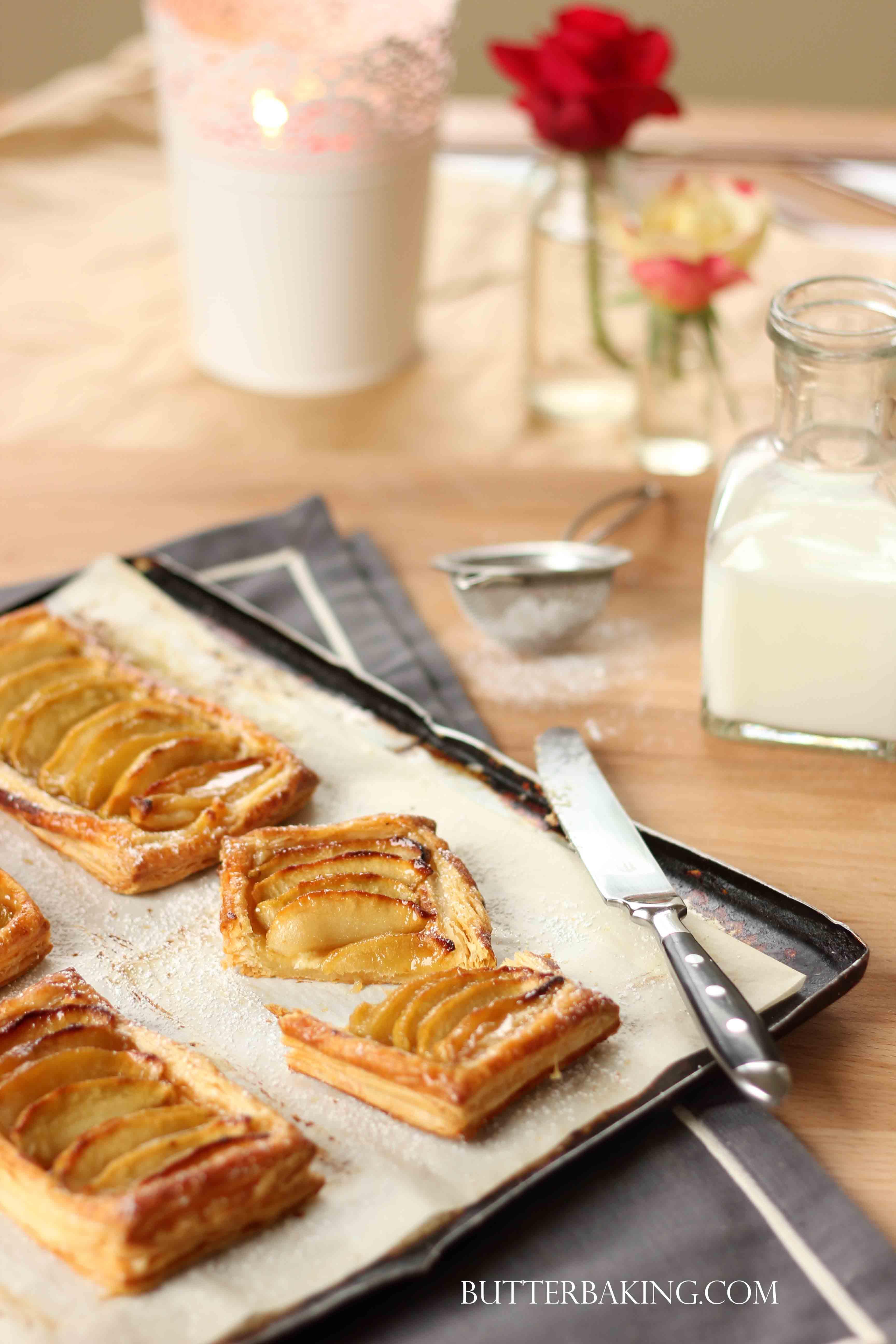 Caramel Apple Galettes | Butter Baking