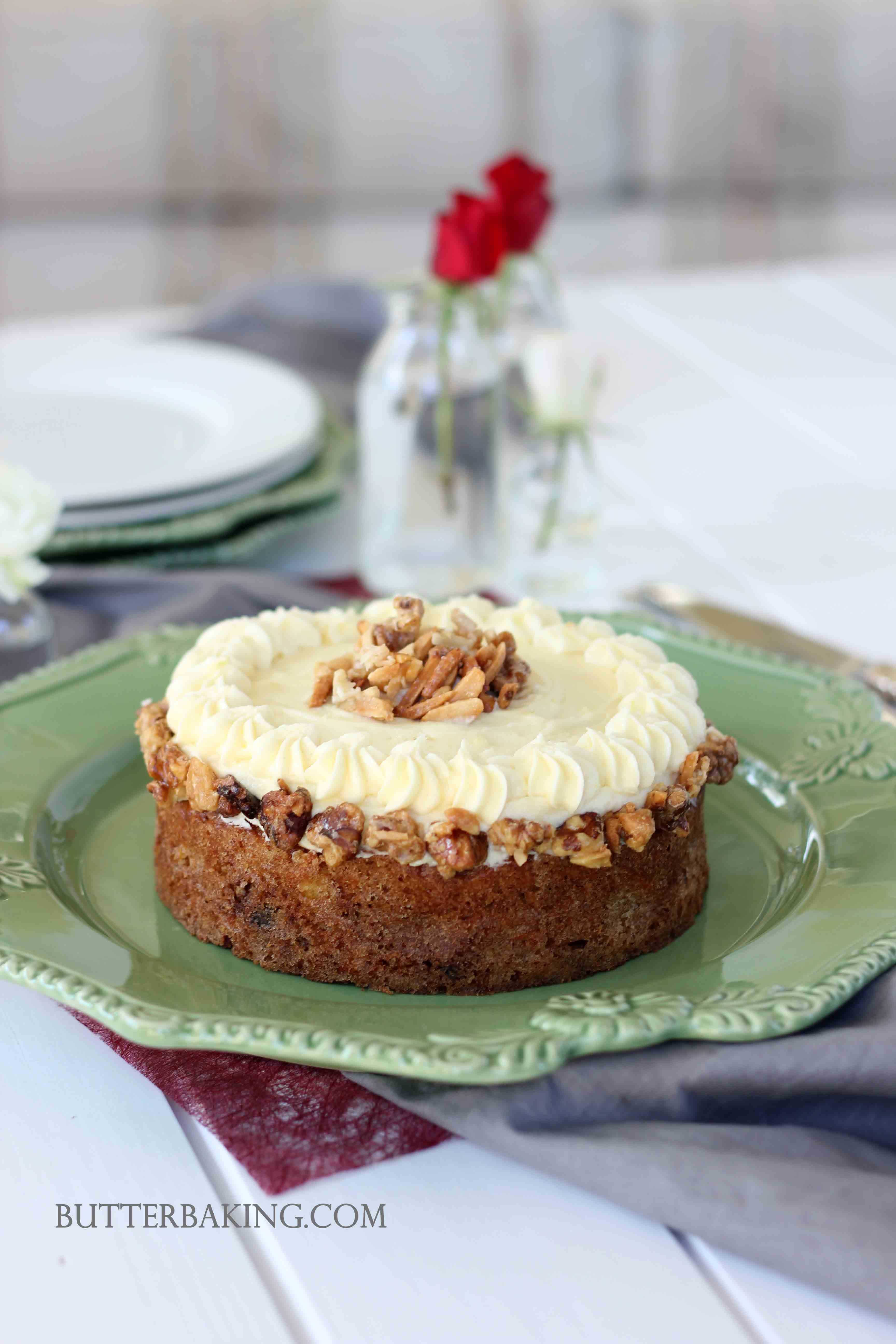 Carrot Cake with Cream Cheese Frosting | Butter Baking