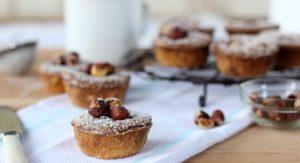 choc hazelnut tarts