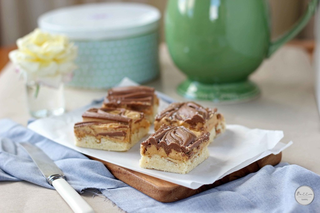 Peanut Butter Pretzel tagalong Bars | Butter Baking