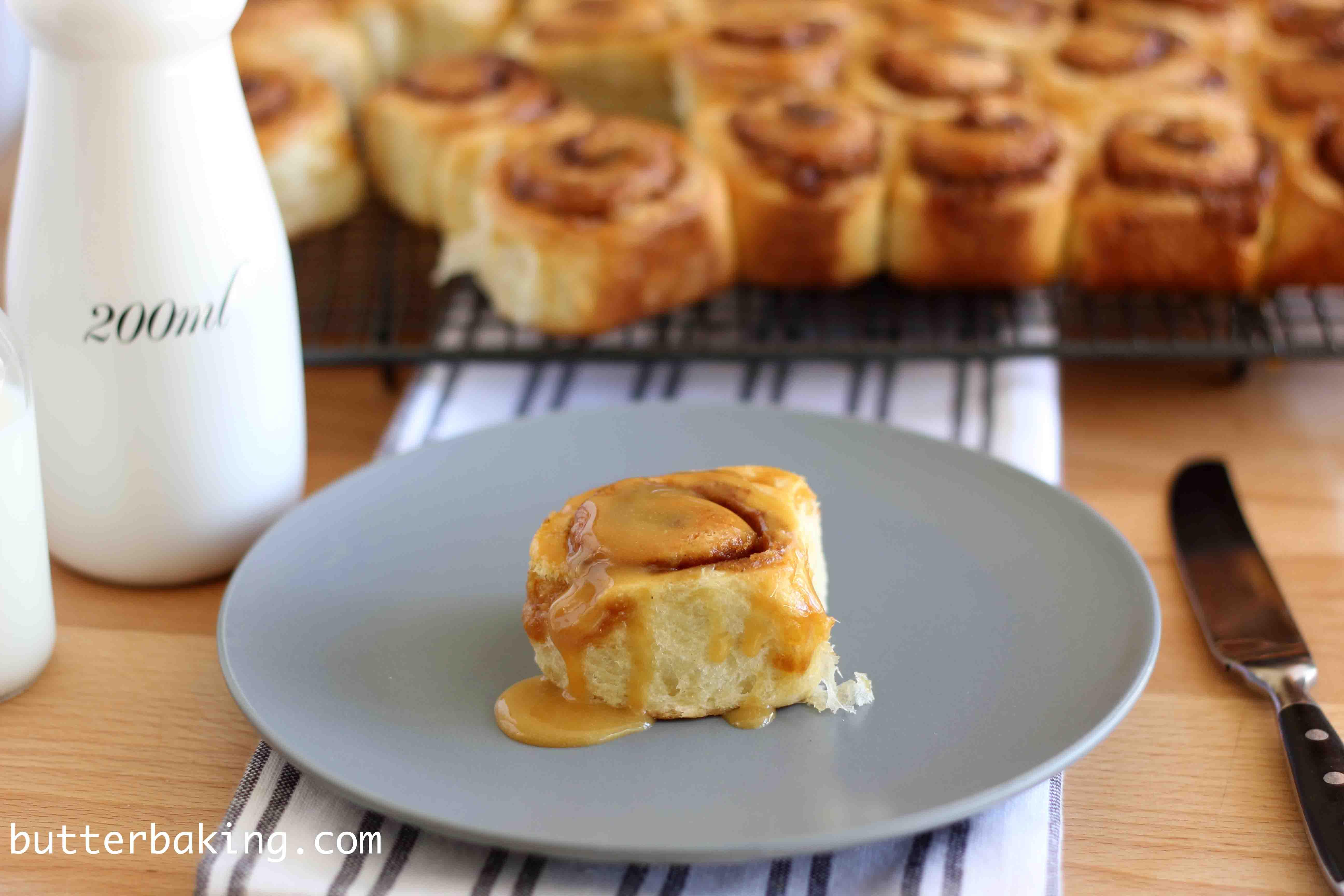 Mini Cinnamon Rolls | Butter Baking
