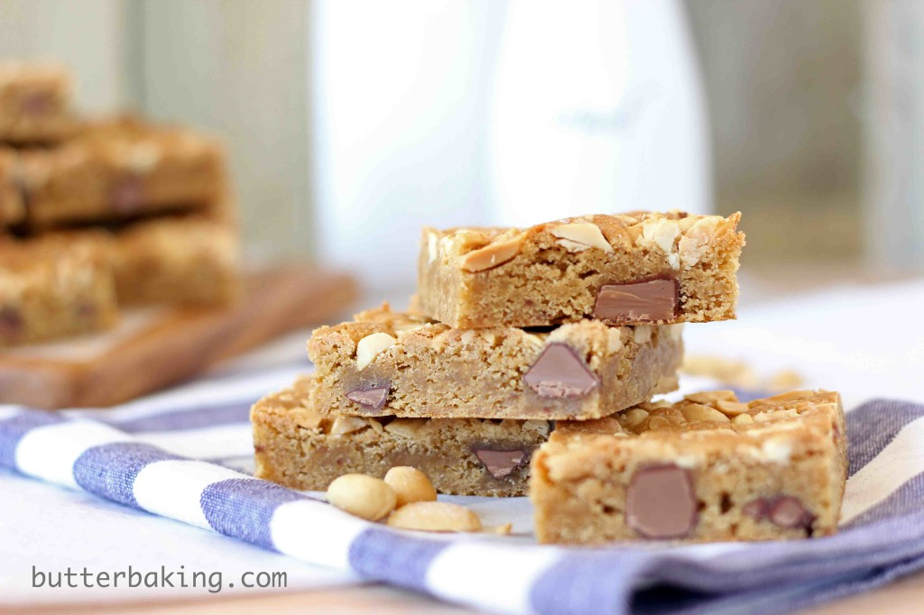 Salted Peanut Blondies | Butter Baking