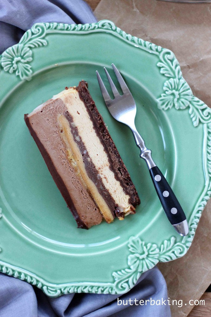 Caramel and Chocolate Hazelnut Crunch Gateau | Butter Baking