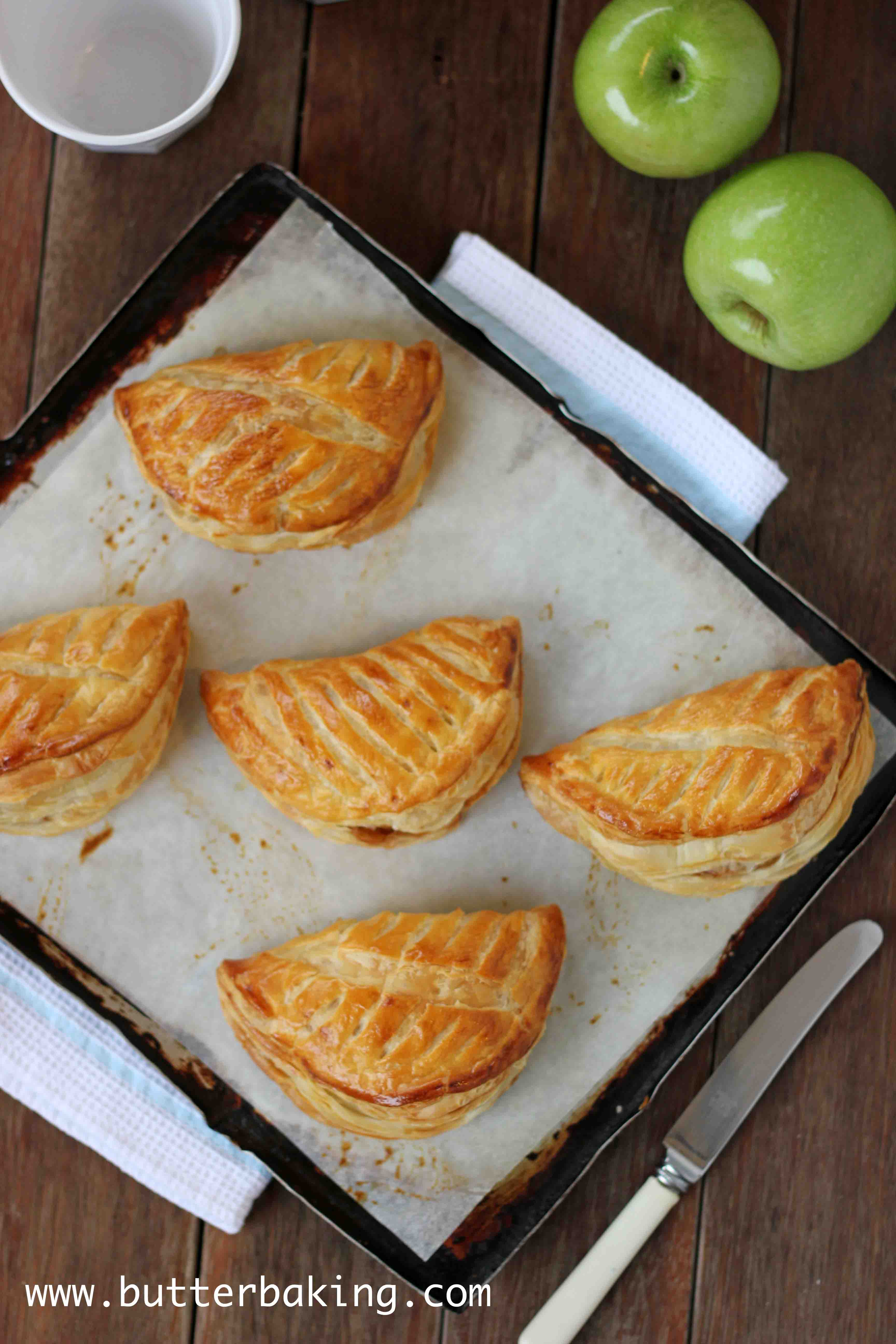 Chaussons Aux Pommes (French Apple Turnovers) Recipe — Dishmaps