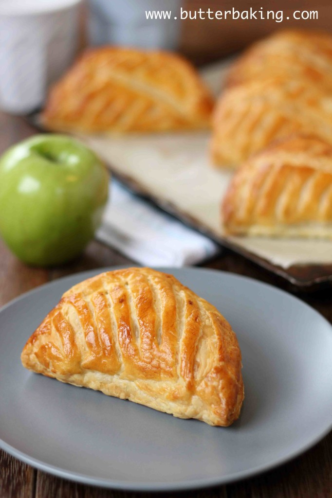 Chaussons aux Pommes (Apple Turnovers) | Butter Baking