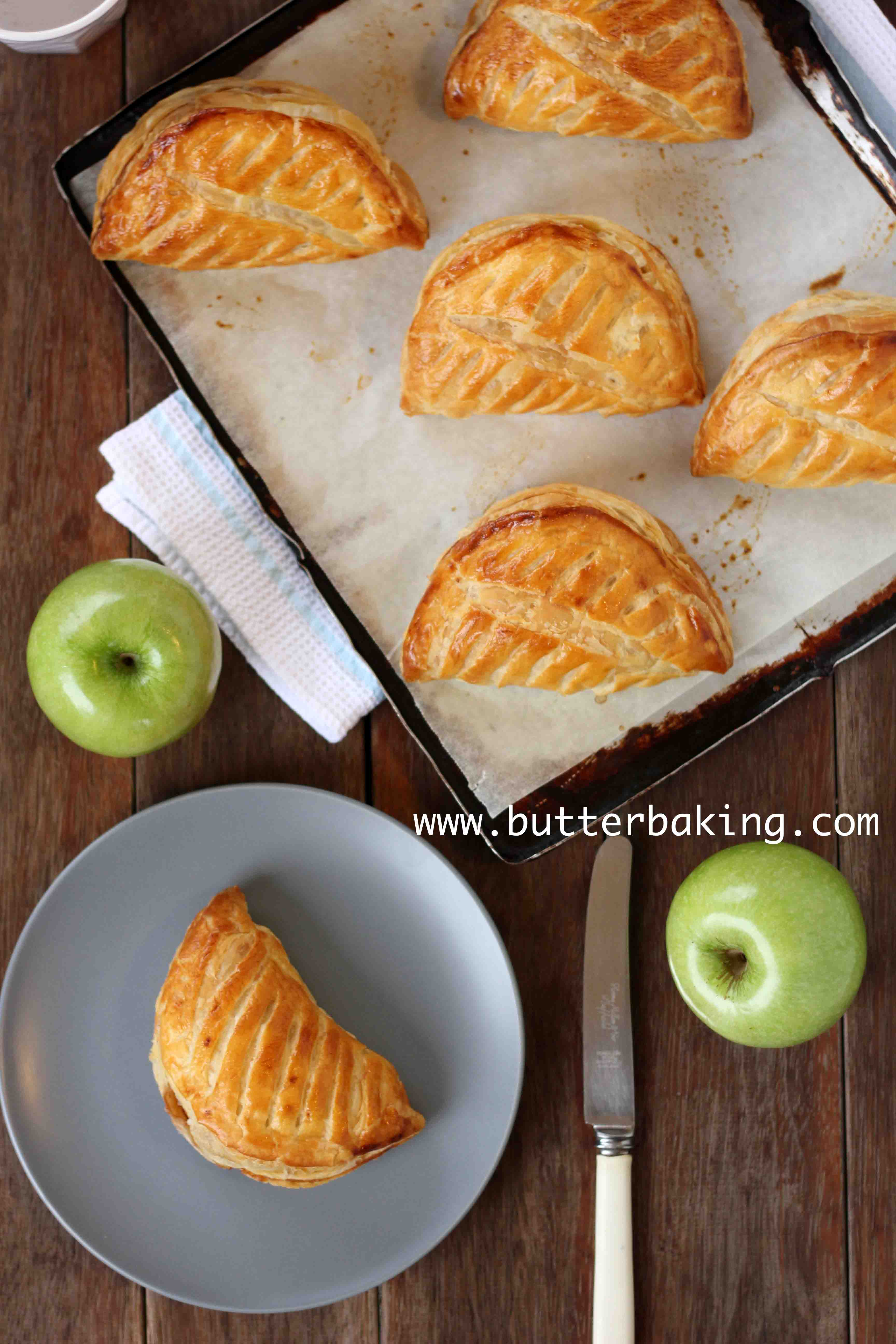 ... apple turnovers recipe yummly french apple turnovers chaussons aux