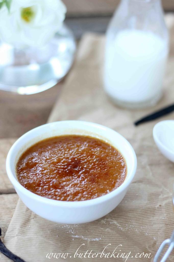 Salted Caramel Creme Brûlée | Butter Baking