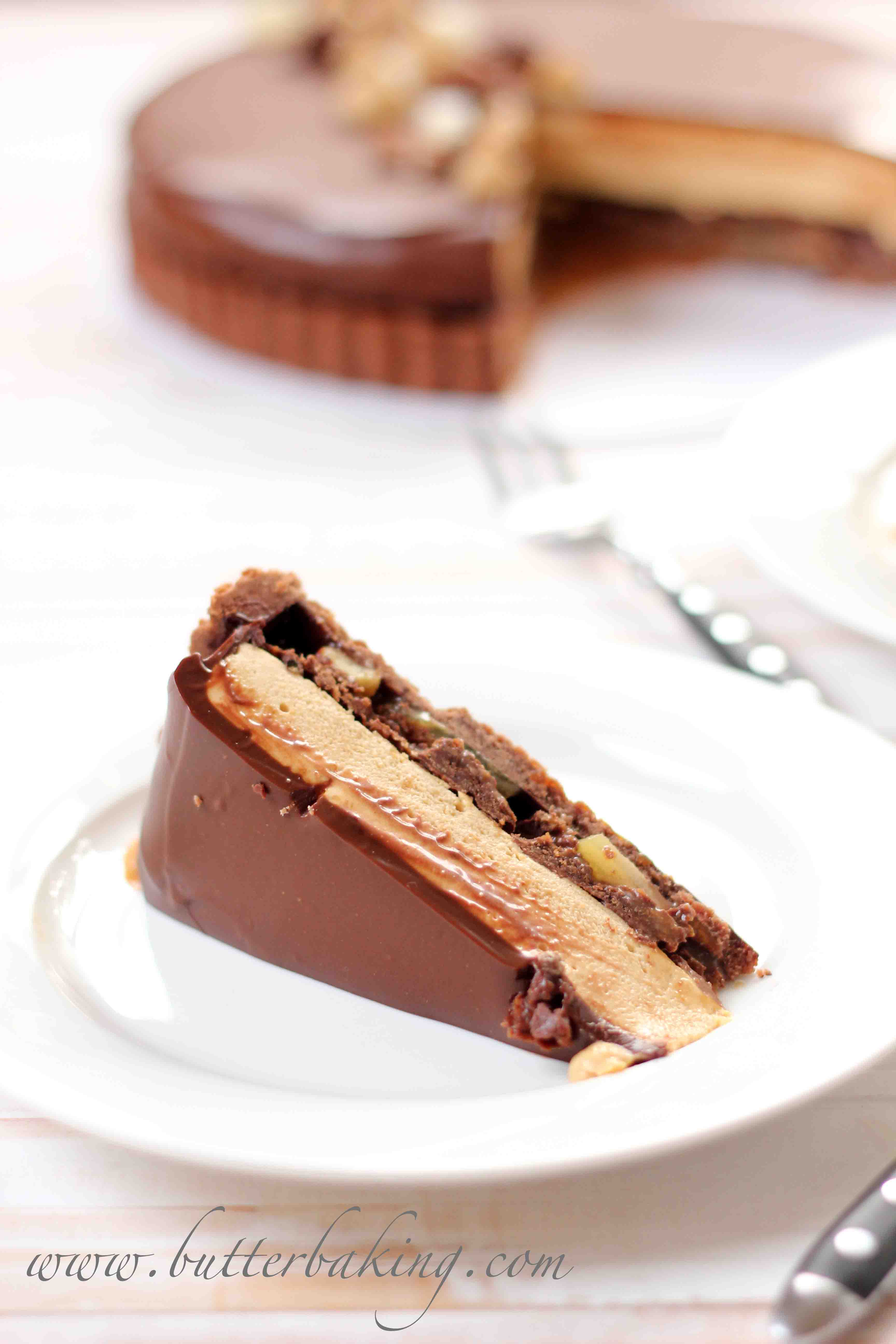... honey date and pecan tart recipe dishmaps honey date and pecan tart
